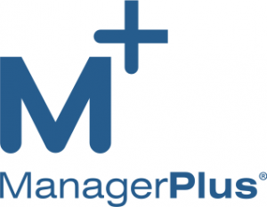Blue_ManagerPlus Logo